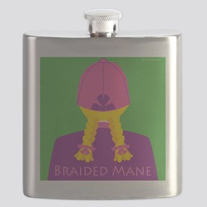Braided Mane-Women Flask