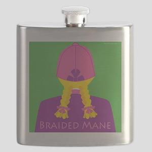 Braided Mane-Men Flask