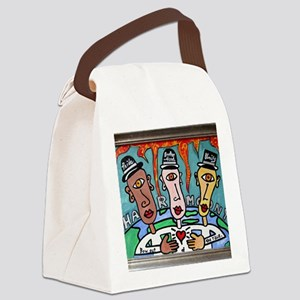 Harmony: Bow Out of the Race Canvas Lunch Bag