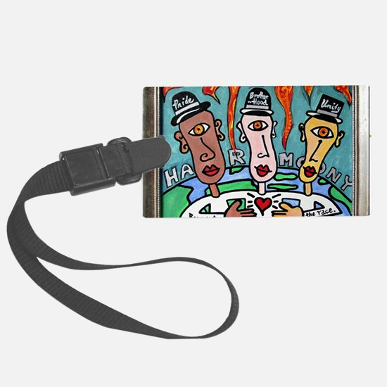 Harmony: Bow Out of the Race Luggage Tag