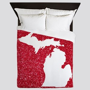 Michigan Queen Duvet