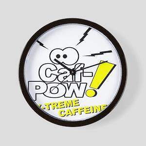 Caf-Pow of NCIS Fame Wall Clock