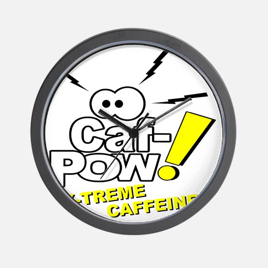 Caf-Pow of NCIS Fame Wall Clock