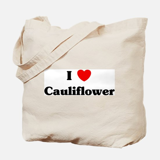 I love Cauliflower Tote Bag