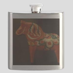Dala Horse Foundation Flask