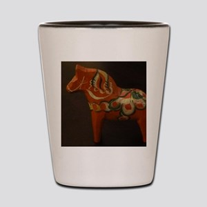 Dala Horse Foundation Shot Glass
