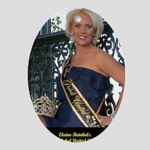Mrs Global United 2012-13 Oval Ornament