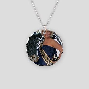 Mrs Global United 2012-13 Necklace Circle Charm
