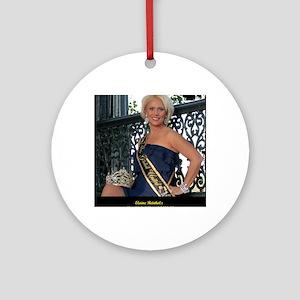 Mrs Global United 2012-13 Round Ornament