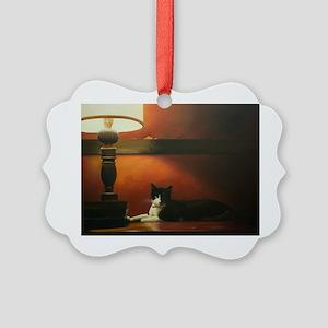 Dr. Livingston Picture Ornament
