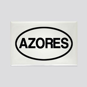 Azores Rectangle Magnet