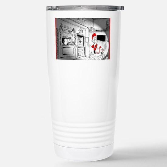 1006A-SECRET-SANTA-FRON Stainless Steel Travel Mug