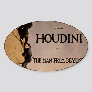 houdini Sticker (Oval)