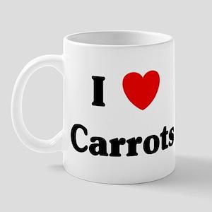 I love Carrots Mug