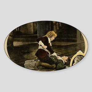 mary pickford Sticker (Oval)