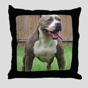 Pittbull Throw Pillow