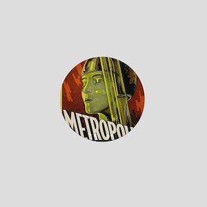 metropolis Mini Button