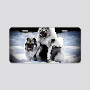 Lexie and Bridget Aluminum License Plate
