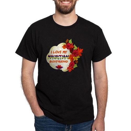 Mauritian Boyfriend Designs T-Shirt