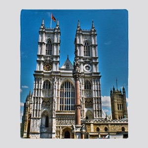 Westminster Abbey Throw Blanket