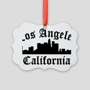 Los Angeles, CA Picture Ornament