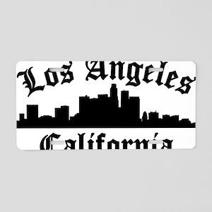 Los Angeles, CA Aluminum License Plate