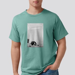 dog sleeping in bed T-Shirt
