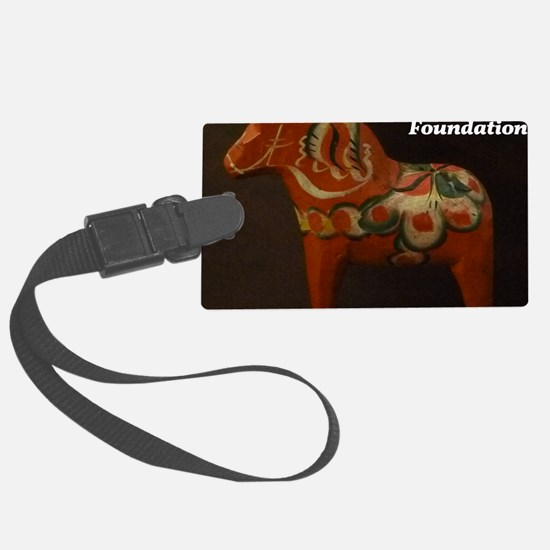 Dala Horse Foundation Luggage Tag