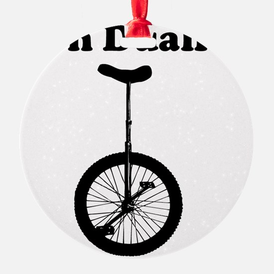Non Dualist Unicycle Light Ornament