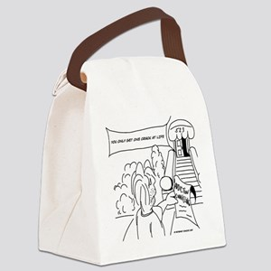 1061 Canvas Lunch Bag