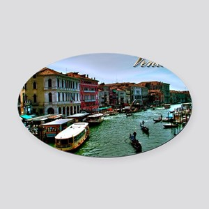 Venice - Grand Canal Oval Car Magnet