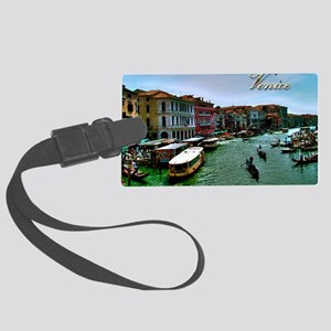 Venice - Grand Canal Large Luggage Tag