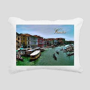 Venice - Grand Canal Rectangular Canvas Pillow
