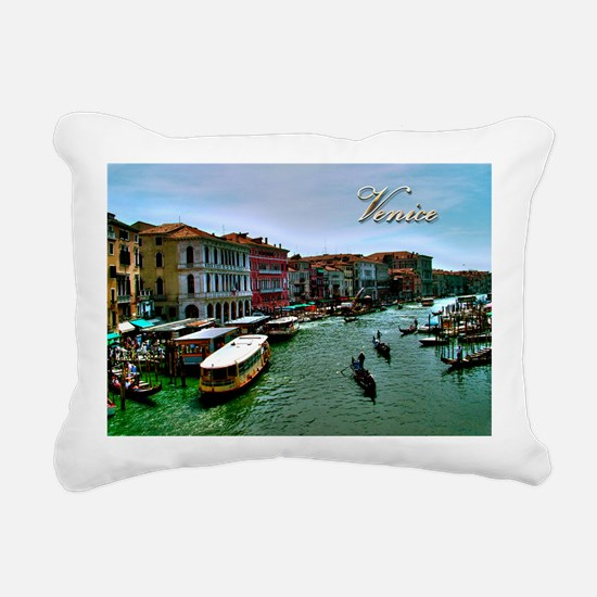 Venice - Grand Canal Rectangular Canvas Pillow