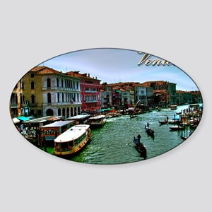 Venice - Grand Canal Sticker (Oval)