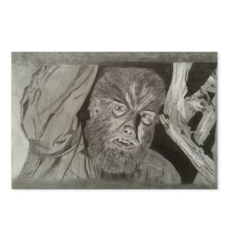 Wolfman Postcards (Package of 8)