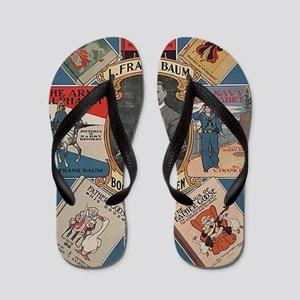 l frank baum Flip Flops