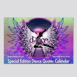 Dance Quotes Calendar Postcards (Package of 8)
