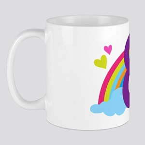 Rainbow 8th Birthday Mug