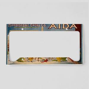 aida License Plate Holder