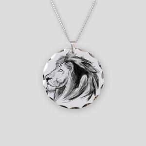 Friggin Majestic Necklace Circle Charm