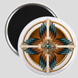 Native American Mandala 02 Magnet