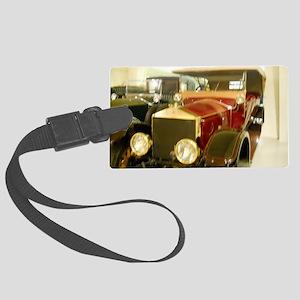 1913 Rolls Royce Large Luggage Tag