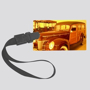 1940 Ford Woody Large Luggage Tag