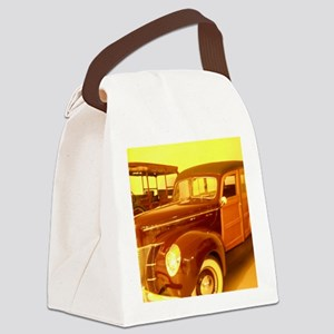 1940 Ford Woody Canvas Lunch Bag