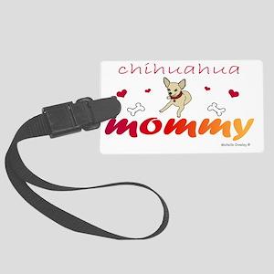 chihuahua Large Luggage Tag