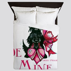 Scottie Valentines Day 2012 Queen Duvet