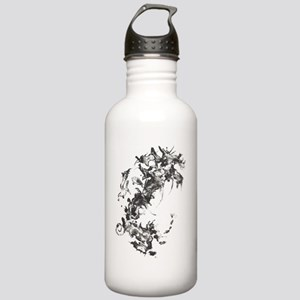 Hybrid I : Leather Stainless Water Bottle 1.0L