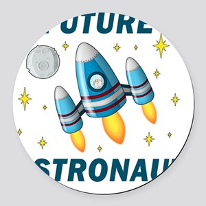 Future Astronaut (Boy) Round Car Magnet