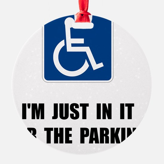 Handicap Parking Ornament